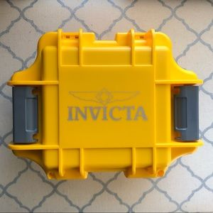 Invicta 1 Slot Impact Watch Case Yellow - DC1YEL